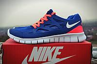 Мужские кроссовки Nike Free Run 2.0 Blue