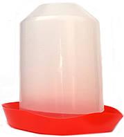 Поилка бункерная для птиц пластмассовая