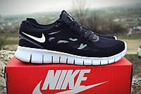 Мужские кроссовки Nike Free Run 2.0 Black/White