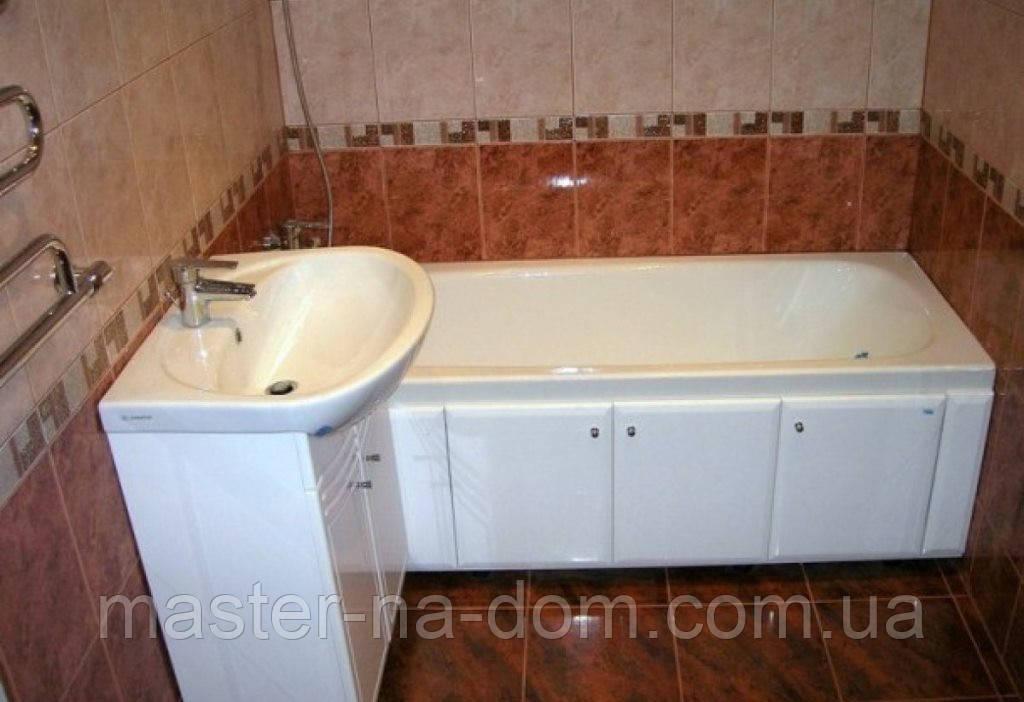 Монтаж ванны в Харькове