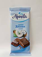 Шоколад з кокосом Alpinella