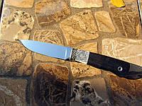 """Нож ручной работы """"Грибник"""" из нержавеющей стали 110х18мш, длина 230 мм"""