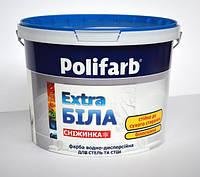 Краска СНЕЖИНКА ТМ Polifarb 4.2кг
