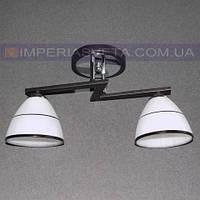 Потолочная люстра для низких потолков двухламповая KODE:533020
