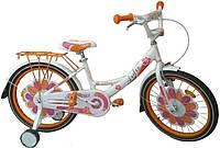"""Велосипед ARDIS LILLIES BMX 16"""" Белый/Оранжевый (A16BMX09)"""