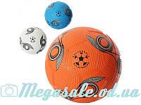 Мяч футбольный SoccerBall №5: 3 цвета, резина