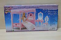 Мебель для Барби, спальня, игрушечная мебель для куклы