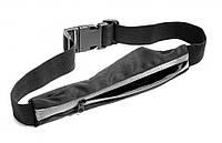 Ремень-кошелек с секретным карманом, цвет черный Sport Sack