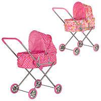 Кукольная коляска классического типа, Melogo 9308 W