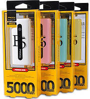 Power bank Remax  E5 original 5000mAh Универсальная мобильная батарея