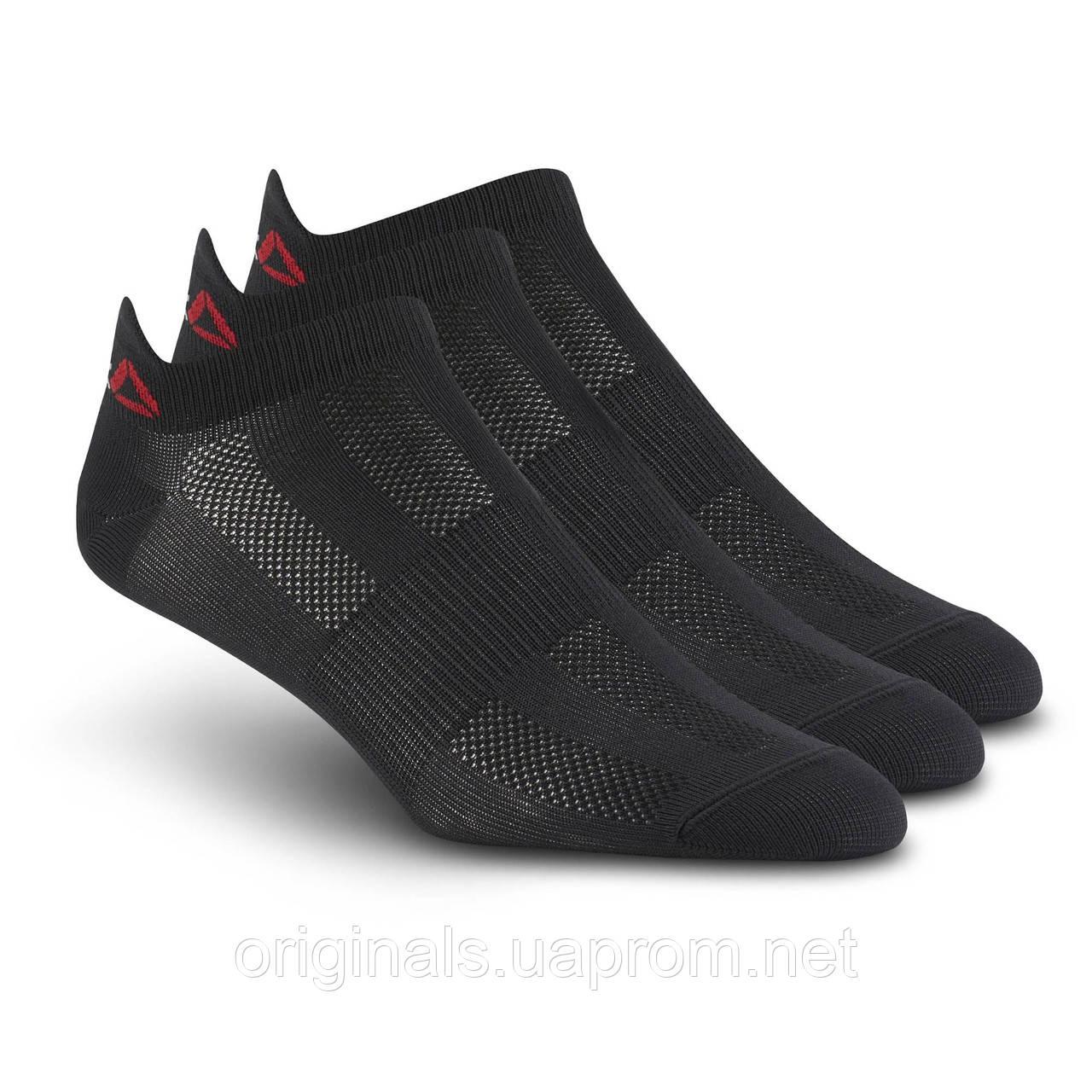Женские короткие носки Рибок ONE Series 3 пары в упаковке BP6242