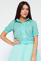 Укороченная женская блузка Августа № 16