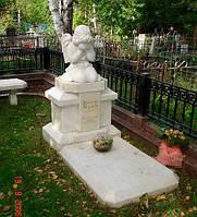 Монументальная скульптура из мрамора