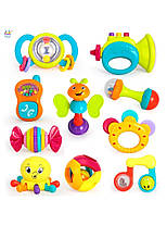 Погремушка «Huile Toys» (939) набор, 10 шт. (звук. эффекты)