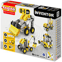 Конструктор Строительная техника 8 в 1, серия Inventor, Engino