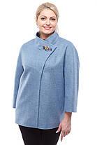Пальто демисезонное женское короткое размер 42-48, фото 2