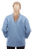 Пальто демисезонное женское короткое размер 42-48, фото 3