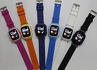 Детские Smart часы Q100 (Q90) 5 цветов!  (Vibro, Wi-Fi, GPS, cенсор)