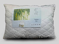 """Подушка """"ЗЕВС"""" 70 х 70, ткань микрофибра выпуклая с прошитой оккантовкой, наполнитель бамбуковое волокно"""