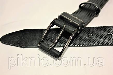 Ремень мужской кожаный 115х3,5см №6, фото 2