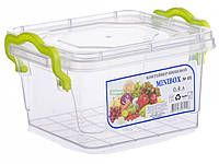 Контейнер пищевой Al-plastik MiniLux (0,4 л, с ручками)