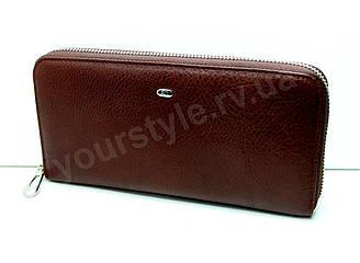 Женский кожаный коричневый кошелек ST на молнии ST201 brown