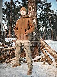 """Тактическая флисовая кофта куртка """"Bearskin"""". Кайот, все разм."""