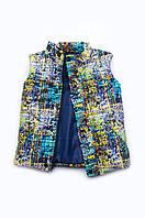 Жилет-куртка 2 в 1 для мальчиков, демисезонная детская жилетка, утепленная жилетка