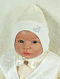 """Подарочный набор для мальчика """"Сеньор"""" кремовый+белый, фото 2"""