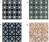 Декоративные мраморные панели с геометрическими узорами