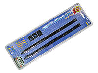 Подсветка салона 90101B-25 9LEDх25см в прикурив/звук.сенсор/синяя