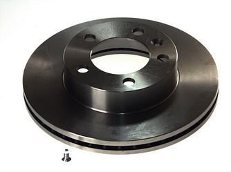 Тормозной диск передний 302mm на Renault Master III 2010-> — TRW (США/Германия) - DF6131S