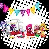 My Little Pony Equestria Girls Minis Applejack Slumber Party Games Set ( Мини-кукла ЭплДжек Игры для пижамной), фото 4