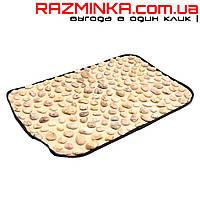 Массажный коврик из камней НАТУРАЛЬНАЯ ГАЛЬКА 60х40см