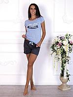 """Комплект женской домашней одежды с шортами из коллекции  """"Dream"""" (арт.592)"""