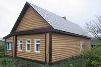 Сайдинг металлический Блок-хаус в Запорожье цвет ольха