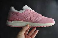 Женские кроссовки New Balance 997.5 Pink (Нью Баланс) розовые