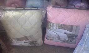 Двухспальное теплое одеяло