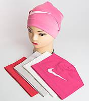 """Спортивная шапочка для девочки-подростка с эмблемой """"Nike"""""""