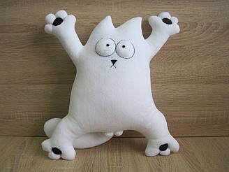 Мягкая игрушка кот Саймона 35 см ручная работа
