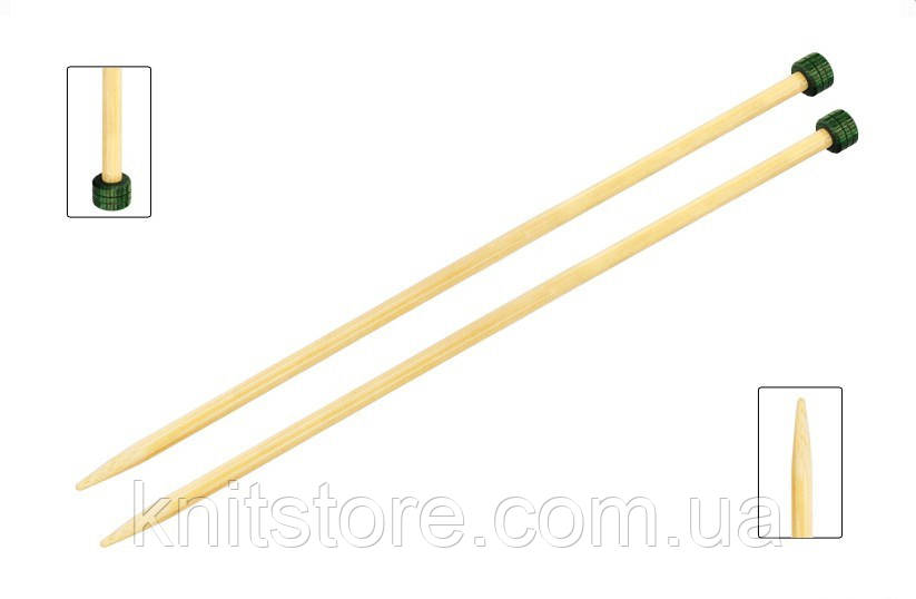 Спицы прямые Bamboo KnitPro 33см/5.5мм