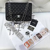 Сумка Chanel Jumbo макси кожа черная