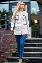 Куртка молодежная классика весна 2017 женская размеры 42-50, фото 2