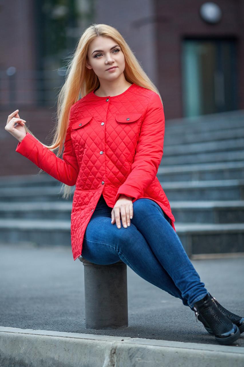 Куртка молодежная классика весна 2017 женская размеры 42-50