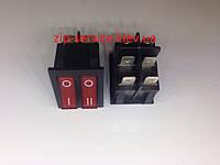 Выключатель две кнопки для водонагревателей 16A 250VAC T100