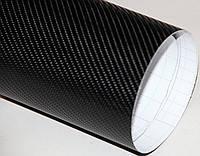 Пленка Карбон 4D черная, ширина 1,52 м.