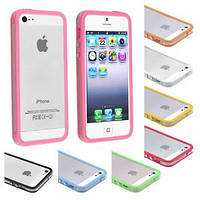 Bumper for iPhone 5/5S с полоской, mixcolor