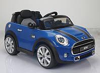 Детский электромобиль  Mini Cooper T-7910 BLUE на радиоуправлении