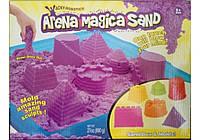 Набор для творчества Кинетический песок 680 грам + 6 пасочек