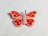 Брошка бабочка. Подарок на 8-е марта